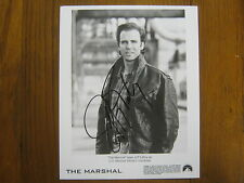 "JEFF  FAHEY    ""Lost""/""The  Marshal""   Signed   8 X 10   B & W Glossy  Photo"