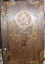 Phoenix Rising Book of Shadows 10x15 size Wicca, Witch