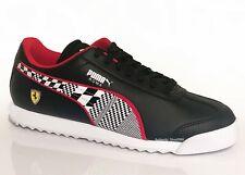 PUMA Scuderia Ferrari Roma Men's  Fashion Sport Shoes Sneakers Black Red NEW