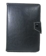 Universal PU Leather Book Case Flip Cover+Stand Samsung Galaxy Tab 2 P3110-BLK
