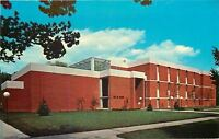 Marion Indiana~Hall Of Science~Marion College~1960s Postcard