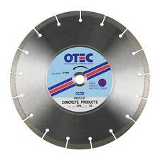OTEC D15D General Purpose Concrete Cutting Diamond Blade 300mm dia / 20mm bore