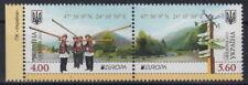 CEPT: ** UKRAINE Ausgabe aus Jahr 2012 Mi 1249-1250.A  ZD - MW 9,- (F288-4#1)