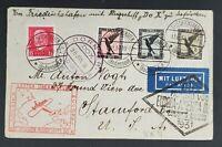 1931 Germany to New York USA via Brazil Dornier DOX First Flight Air Mail Cover