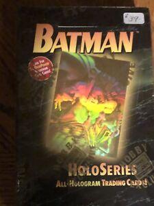 BATMAN HALO SERIES 1996 HOBBY BOX FACTORY SEALED BOX - SUPER RARE