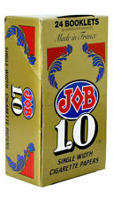 JOB 1.0 Gold Cigarette Rolling Papers Full Box/24 Booklets