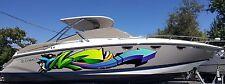 Boat Side Full Color Decal Custom Vinyl Sticker Urban Graffity Arrows