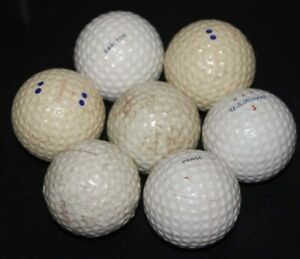 Lot of Vintage Golf Balls~US ROYAL,CHAMPION,CARLTON,PARGO,WILSON FLAG HI