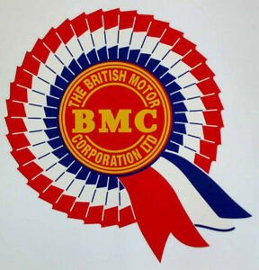 BMC Rosette Screen / Window Water Transfer for Mini, Elf, MG, Morris, Austin etc