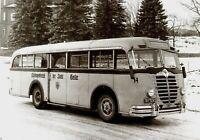 2004BSG Büssing-NAG 5000T 1949 Omnibus Bus Postkarte 1985 picture postcard carte