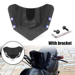 Motorcycle Windscreen Front Windshield Cover Fit BMW Yamaha Honda Universal