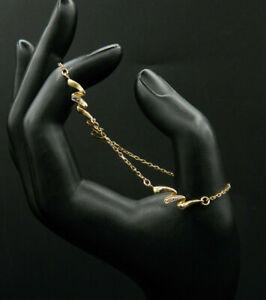 3 - Joli Bracelet 2 ORS 9K, 19 cm