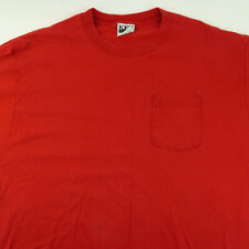 VTG Shirt Men Size XL Key Elements Red Pocket Tee 90's Classic Cool Made in USA