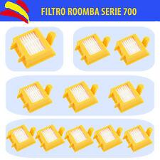 FILTRO HEPA iROBOT ROOMBA SERIE 700 RECAMBIO 760.770.780.790...REPUESTO AMARILLO