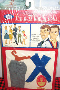 BRAND NEW~SEALED PACKAGE~1963 IDEAL~TAMMY`S DAD&TED **Shorts+Socks** JAPAN~MINT~