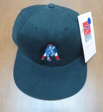 Vintage W/Tags NFL New England Patriots Black Snapback Hat By Sports Specialties