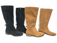 UGG Australia Leigh Boot Riding 1094892 Women's Chestnut Black Suede Tall Boots