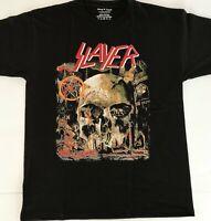 Slayer SKULL T-Shirt Heavy Metal Band Unisex Tee Shirt Rock Pop Alternative punk
