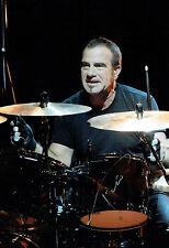 RARE Tico TORRES SIGNED Autograph 12x8 Photo AFTAL COA Bon Jovi Drummer