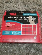 "3M Insulator Kit Clear Film Insulates Large 6'8""x19.5' Window Winter Insulation"