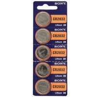 Sony 3V Lithium CR2032 Batteries (5 Batteries)