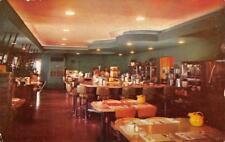SLIM OLSON'S CAFE Elko, Nevada Roadside Diner Interior ca 1950s Vintage Postcard