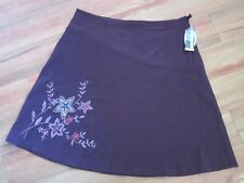 NEW WITH TAGS, BURGUNDY SKIRT  SIZE 22;/24 BY EXPRESSION