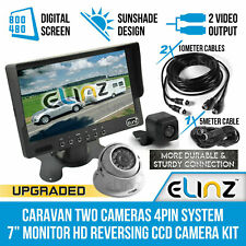 Elinz M7SRVDOME10RVSMA4PIN Rear View Monitor with Camera Kit