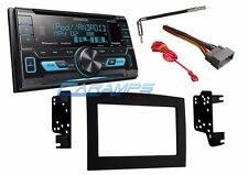 KENWOOD DOUBLE 2 DIN STEREO W XM RADIO & USB/AUX IN W INSTALL KIT FOR RAM TRUCK