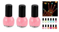 Vernis à ongle rose-Fluorescent-LOT DE 3-GELPOLISH-PROFESIONNEL