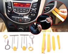 12pcs/set Auto Car Radio Door Clip Panel Trim Dash Audio Removal Installer Pry