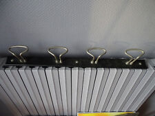4 PATERES METAL INDUSTRIEL PORTE MANTEAU   ART DECO VINTAGE/DECORATION LOFT