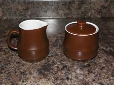Creamer + Sugar Bowl from Casual Ceram Tapestry #9709 Electra Stone Ware Set
