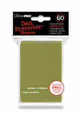 Ultra Pro 60 Small Metallic Gold Deck Protector Sleeves