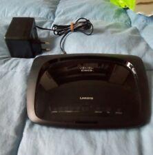 Linksys Cisco Modem Router  wireless-N ADSL2+ 4 porte RJ45 model. WAG120N