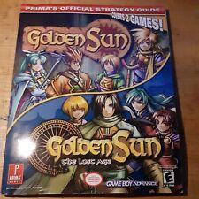 Golden Sun Golden Sun Lost Age Prima Strategy Guide Nintendo Game Boy Advance