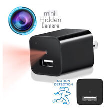 Spy Camera Mini Hidden Wall Charger Small USB HD 1080P Motion US Home Adapter 32