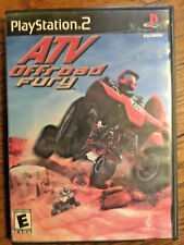 ATV Offroad Fury video game + case PS2  black label edition Playstation 2