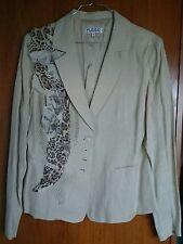 Très beau tailleur veste + jupe, taille XL, marque FUEGO Woman