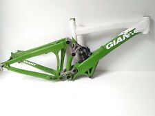 "2009 Giant Glory 26"" Medium Downhill Bike Frame - White & Green USED 129"