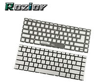 New listing For Hp 14m-dh0003dx 14m-dh1003dx Series Notebook Backlit Keyboard Us Silver