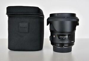 Sigma f/1.4 24mm Art DG HSM Lens for Nikon