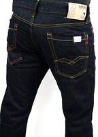 Replay Men Jeans Waitom W30 W32 W34 W36, 38/L32 M983 Dark W11807007 Regular Slim