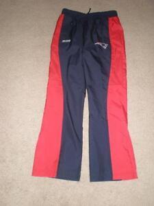 Youth Girls New England Patriots L (14) Pants Windbreaker Bottoms Reebok