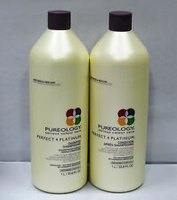Pureology Perfect 4 Platinum Shampoo Conditioner 33.8 oz Liter Set Duo PACK