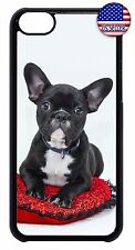 For Apple iPod 4 5 6 Hard Back Case Cover Cute Puppy Dog Paws French Bulldog