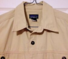 Patagonia Shirt Medium Button Front Heavy Cotton