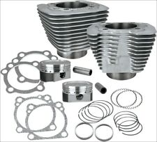 S&S Cycle XL 883 to 1200 Silver Big Bore Coversion Kit Harley Sportster 86-15