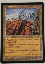 Wasteland - Tempest MTG Magic the Gathering Card - See Pics for Condition