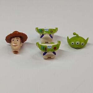 Lego Minifigure Woody Buzz Alien Parts Lot Disney Toy Story Authentic LEGO